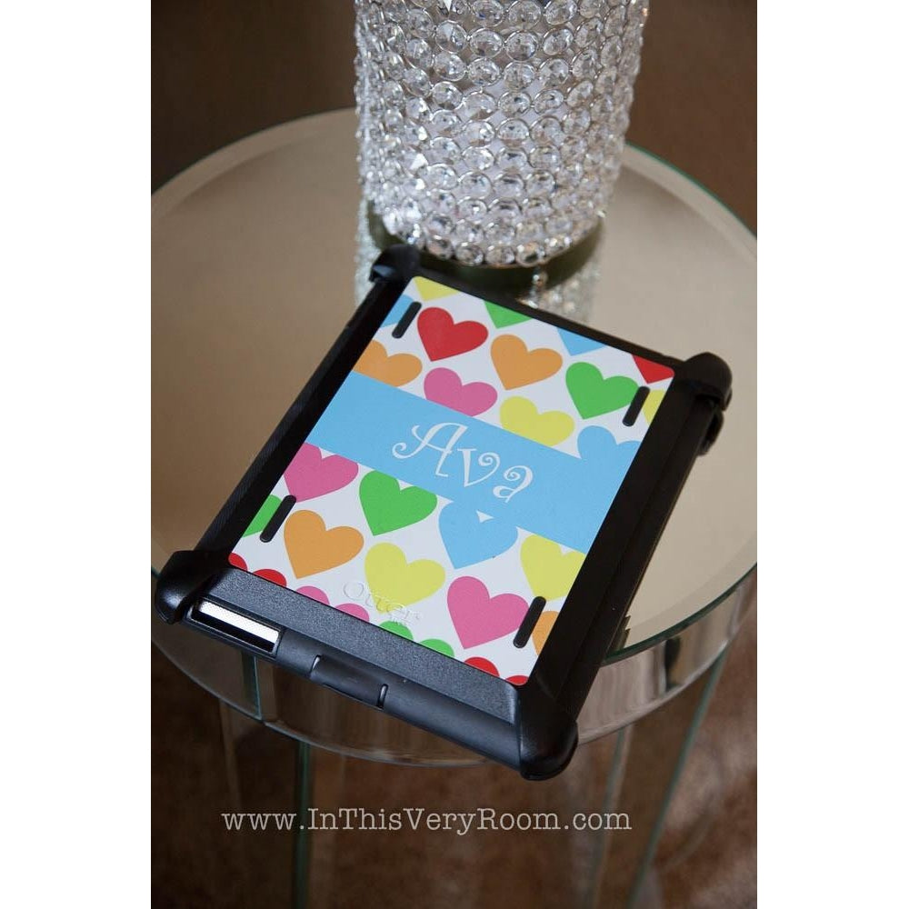 Hearts iPad Otterbox Defender Case
