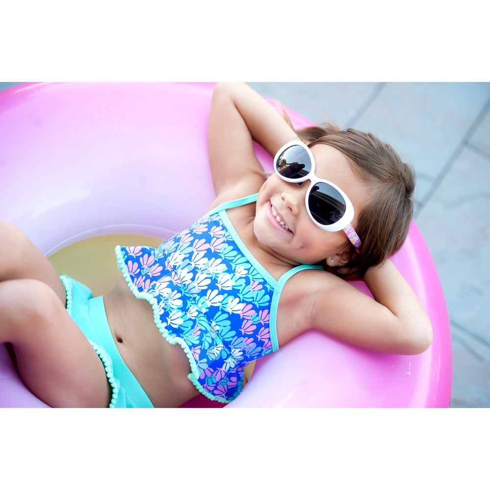 Mer-Mazing Swim Suit for Little Girls