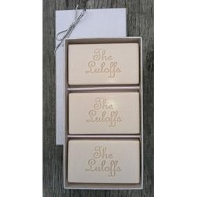 Signature Rectangle Soaps