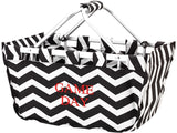 *ALMOST GONE* Chevron Market Totes - Several Color & Sizes - inthisveryroom