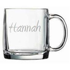 Large Glass Mug