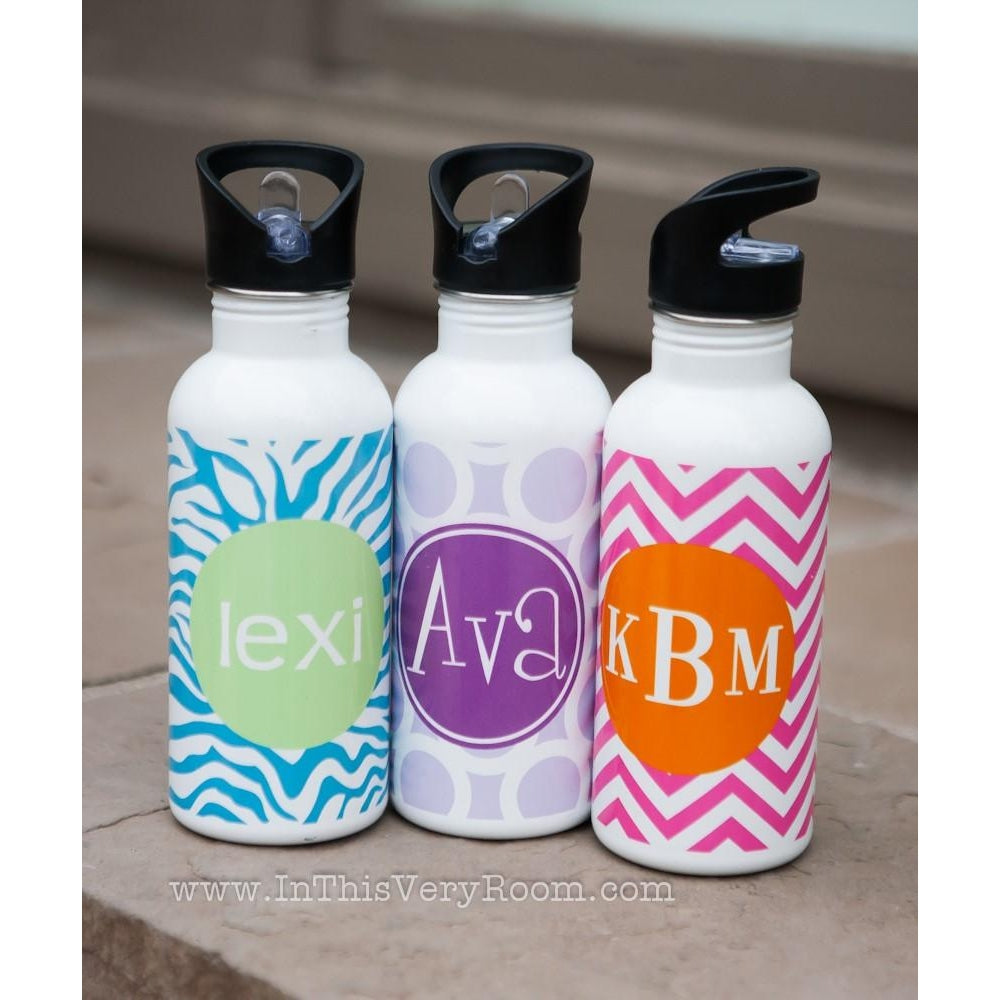 Water Bottles *ALL 2-color PATTERNS*
