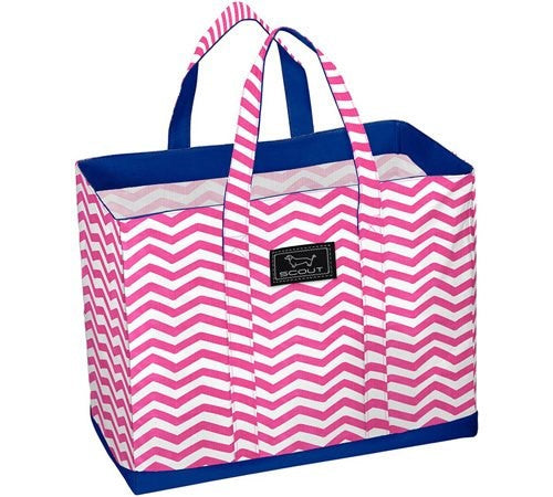 *SOLD OUT* Pink Chevron Tote  - Deano Bag by Scout - inthisveryroom