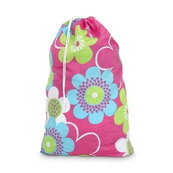 *SOLD OUT* Pinks Bloom-a-Licious Laundry Bag - inthisveryroom