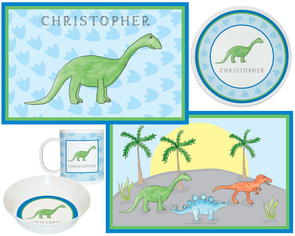 Dinomite Dinosaure Kids Dish Sets! Kids' Dish Set