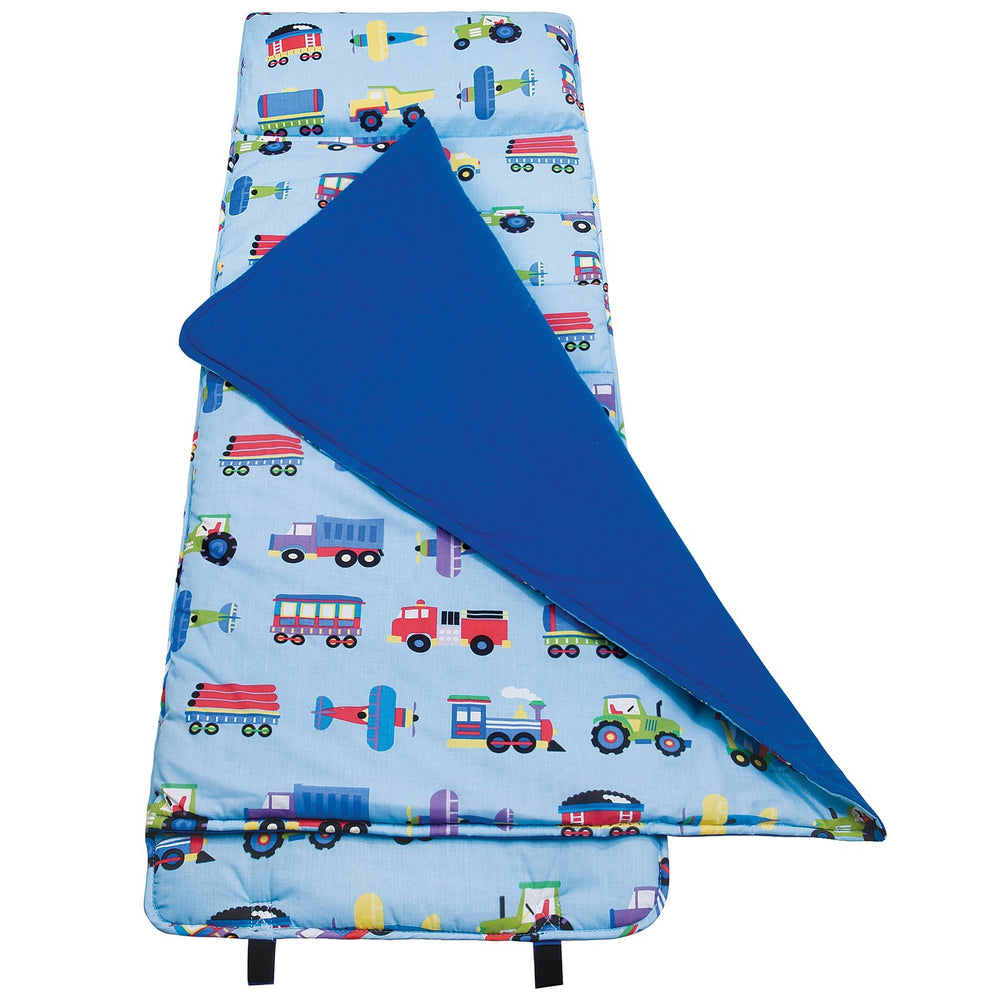 *SOLD OUT* Trains, Planes & Trucks Nap Mat - inthisveryroom