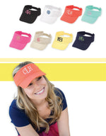Monogrammed Visors - Many Colors!