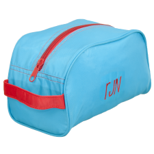 Aqua & Red Travel Bag