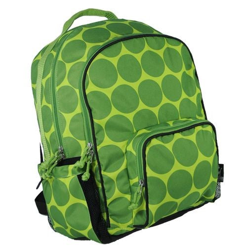 *SOLD OUT* Green Dots School Backpack - inthisveryroom