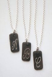 *SOLD OUT* Sweet Initial Necklace - inthisveryroom