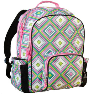 *SOLD OUT* Pink Retro School Backpack - inthisveryroom