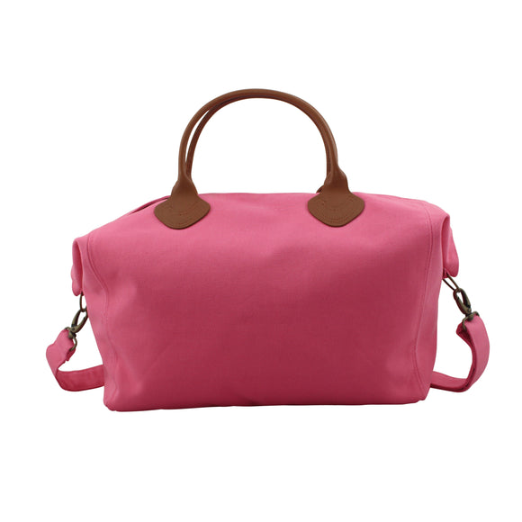 Canvas Coral Cargo Tote Bag - Duffel