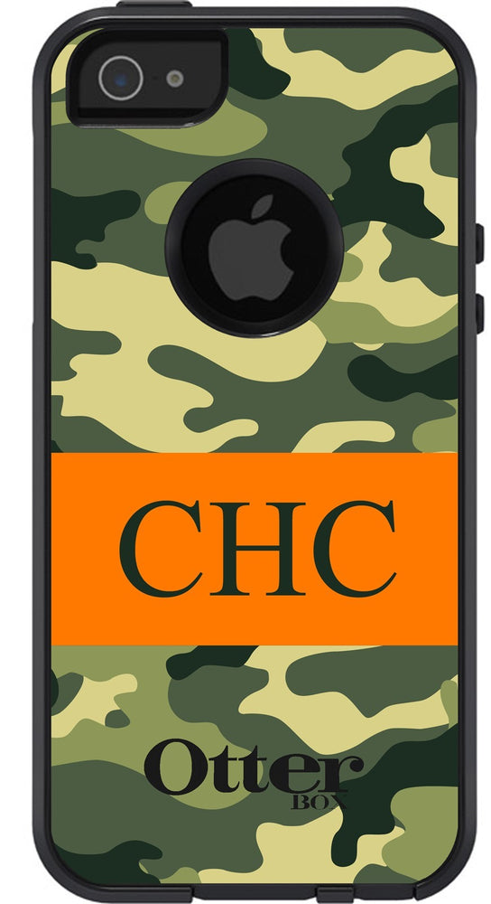Personalized Camo Otterbox Case