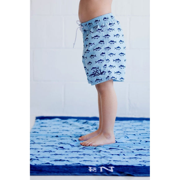 Boys Swim Shorts Personalized