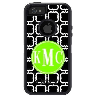 Personalized Squares Pattern Otterbox Case