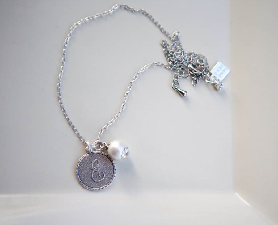 *Only Letters N* Petite Necklace by John wind - inthisveryroom