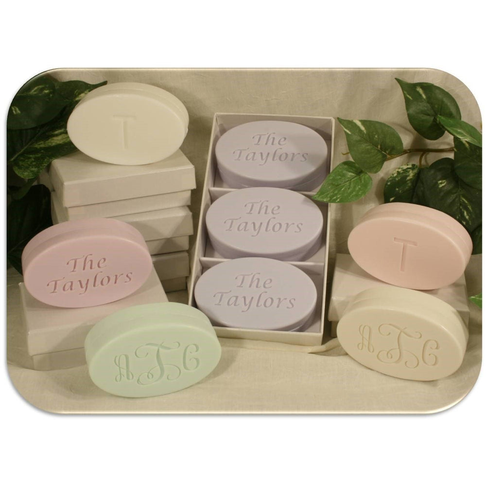 Signature Oval Soaps - Several Colors/Scents!