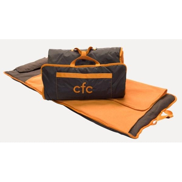 *SOLD OUT* Orange & Chocolate Nap Mat - inthisveryroom