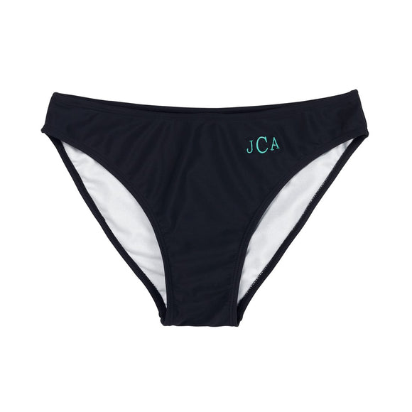 Monogrammed Swim Bottoms for Women / Teens