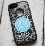 Personalized Floral Otterbox Case