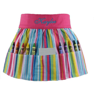 *SOLD OUT*Crayon Apron For Girls - inthisveryroom