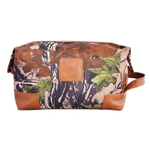 Camo Large Toiletry/Dopp Bag