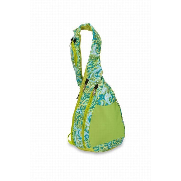 Insulated Sling -Green Paisley