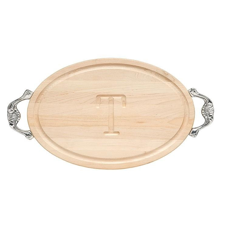 Maple Oval Board with Handles