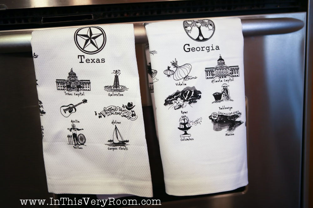 *SOLD OUT* Georgia Dish Towel - inthisveryroom