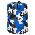 Camo Blue Sleeping Bag - inthisveryroom