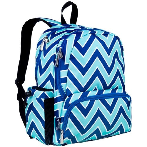 Personalized Chevron Backpack for School for Girls