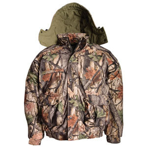 Camo Hunting 4 In 1 Parka