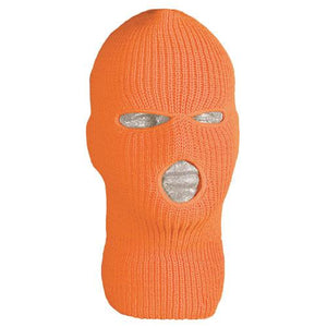 Acrylic Orange Balaclava