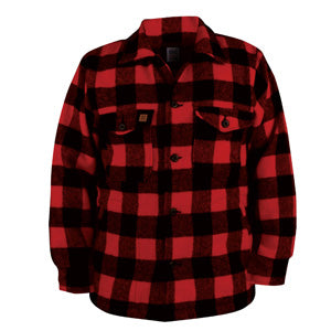 Big Bill Red Checkered Wool Shirt