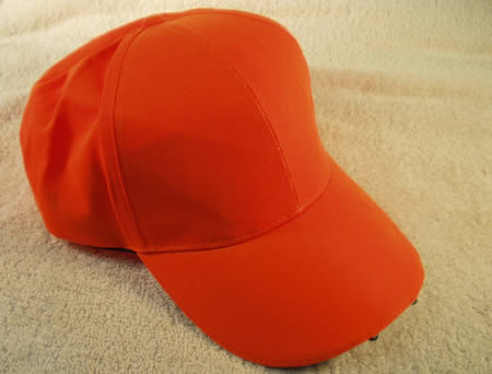 Blaze Orange Ball Caps