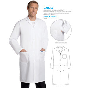 Mobb L406 Labcoat - Full Length