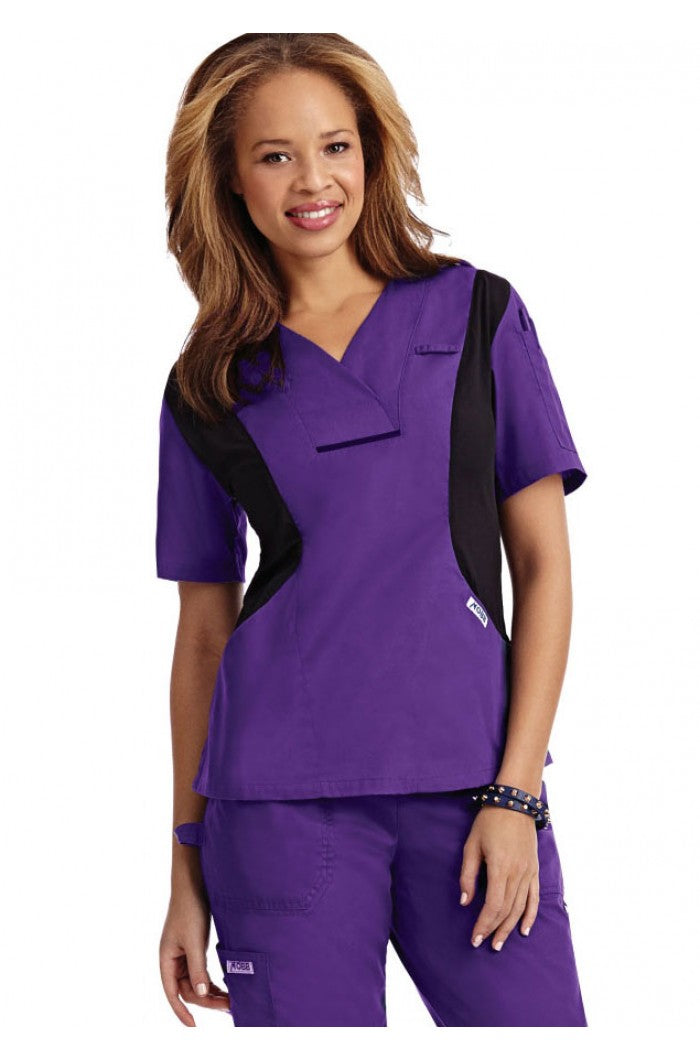 Mobb 424T Active Flexi V-Neck Scrub Top