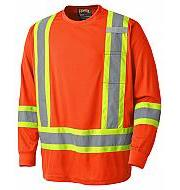Hi Viz Long Sleeved T-shirts