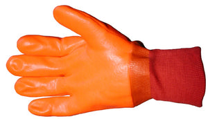 PVC Coated Knit Wrist Gloves