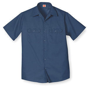 Short Sleeve Navy Work Shirt