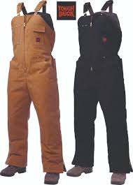 Tough Duck Insulated Bib Overalls