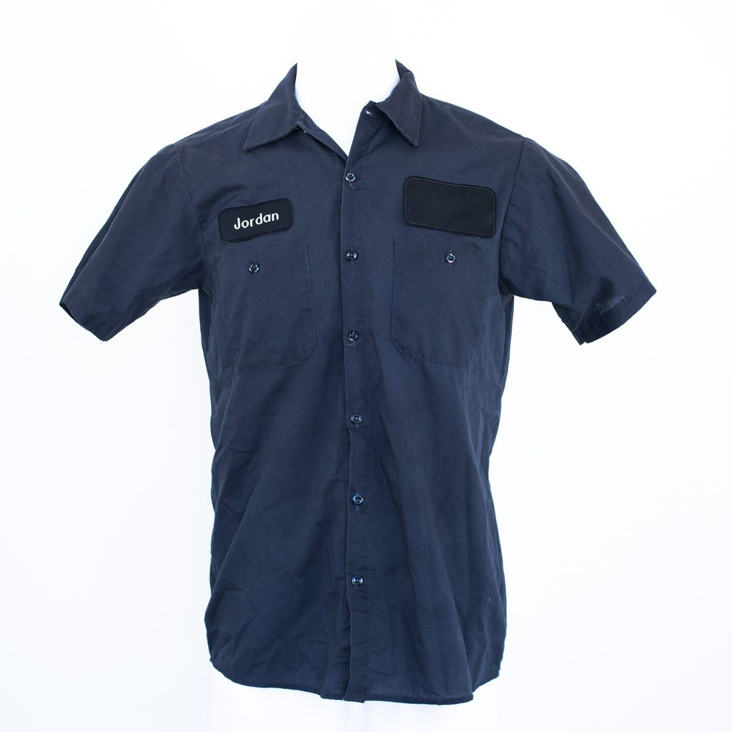 Used Short Sleeve Work Shirt