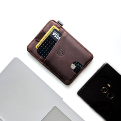 Strapo Wallet V2, Minimalist wallet for men