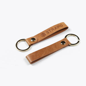 Strapo Leather Keychain - Strapo Design