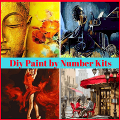 paint by numbers for adults and kids