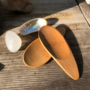 Eco Friendly Bamboo Scoop for Balms or Toothpowder