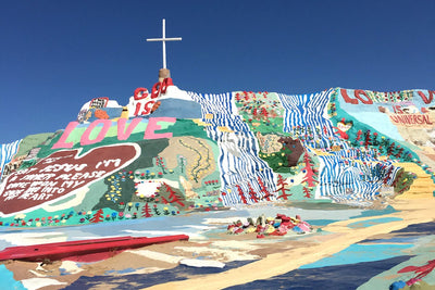 A Weekend Trip to Palm Springs, Salvation Mountain, Slab City and the Salton Sea