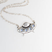 Flying Saucer Necklace