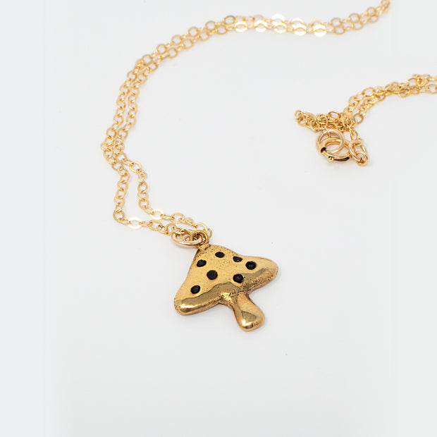 Shroom Mini Necklace