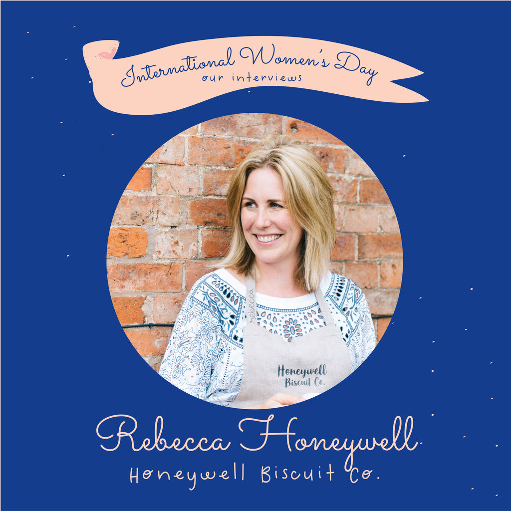 Rebecca Honeywell from Honeywell Biscuit Co